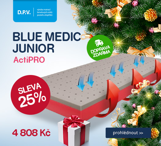 D.P.V. Matrace BLUE MEDIC JUNIOR ActiPRO