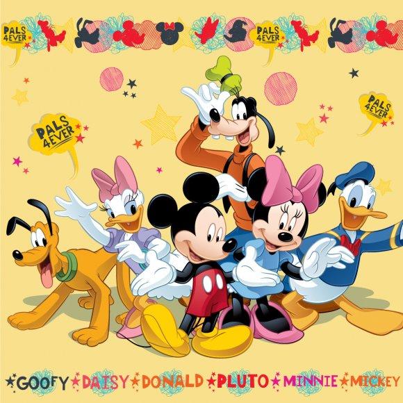 TTP Polštářek Mickey and Friends